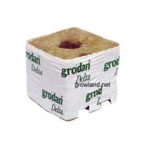 画像2: Grodan ロックウールブロック デルタ10G×2個セット 100×100×100mm グロダン DELTA 植物工場
