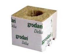 画像3: Grodan ロックウールブロック デルタ10G×2個セット 100×100×100mm グロダン DELTA 植物工場