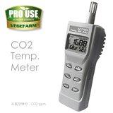 CO2濃度 / RH 測定 AZ-77535 二酸化炭素計測器 / 相対湿度計 vegefarm